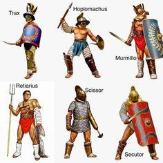 Gladiatores genus. Greek Warrior, Fantasy Warrior, Alter Krieger, Medieval Combat, Gladiator Armor, Roman Gladiators, Ancient Armor, Rome Antique, Roman Warriors