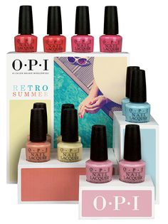 OPI Retro Summer Collection 2016!