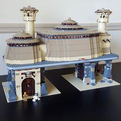 All done with Jabbas Palace! Now to work on the Rancor pit! #AFOL #moc #lego #starwars #starwarslego #legostarwars #jabbaspalace #jabbathehutt #c3p0 #r2d2 #legojabbaspalace #throneroom #legomania #brick #bricks #bricknetwork #legoaddict #legoaddiction #legostagram #legolife by luigislegos