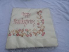 Vintage American Greetings Happy Thanksgiving by ShoppingLounge