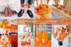Blog Casamentos & Detalhes: Inspiração - Laranja. Acesse ➡️ www.casamentosedetalhes.com