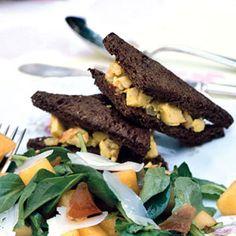 Curried Chicken Salad Sandwiches   MyRecipes.com