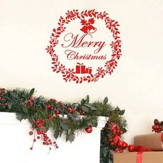 Merry Christmas Wall Stickers. Available for Limited Time Buy Now with Great Offers