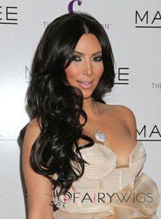 Wondrous Black Hair Wigs Wavy Black Hair And Wigs For Black Women On Pinterest Hairstyles For Women Draintrainus