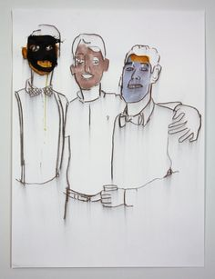 Andrew Cornell Robinson - Society Portrait #2334, Mixed Media