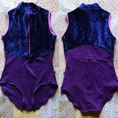 Jessica / Body : t-mora Top : v-dark blue Trim : t-mauve #yumiko