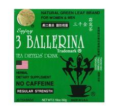 3 BALLERINA HERBAL TEA (30 BOLSITAS).