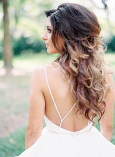 Wedding Dress: JLM Couture, Inc - http://www.stylemepretty.com/portfolio/jlm-couture Photography: Lauren Peele - http://www.stylemepretty.com/portfolio/lauren-peele   Read More on SMP: http://www.stylemepretty.com/2015/07/13/rustic-elegant-jacksonville-wedding/
