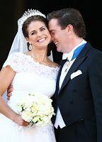 Princesses' lives: Wedding of Princess Madeleine and Chris O'Neill - After the ceremony