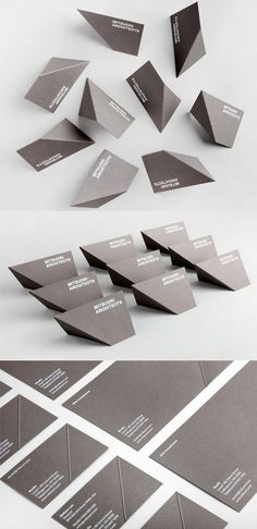 Striking, Creative Business Cards  - DesignTAXI.com