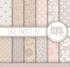 Lace Background - Fondos de Encaje by Lagartixa por LagartixaShop en Etsy, $50.00