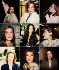 Rare and beautiful celebrity photos | Gillian Anderson