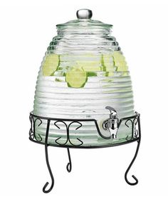 Another great find on #zulily! Beehive 2-Gal. Beverage Dispenser & Rack by Home Essentials and Beyond #zulilyfinds