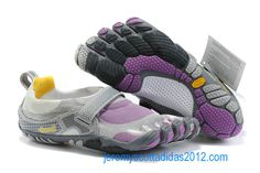 Vibram Five Fingers Bikila Shoes White Purple   I love mine beyond measure.