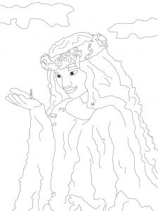 Te Fiti Coloring Page Free Movie Coloring Pages Moana Coloring
