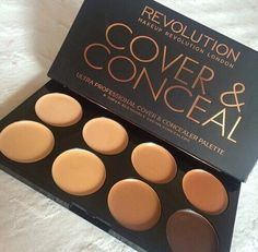pinterest: @jaidyngrace Cover & Conceal Makeup girly girl makeup beauty cosmetics conceal makeup palette