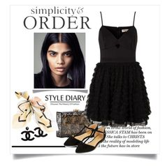"""""""Simplicity and Order"""" by conch-lady ❤ liked on Polyvore featuring Charlotte Olympia, Lipsy, White House Black Market and Accessorize"""