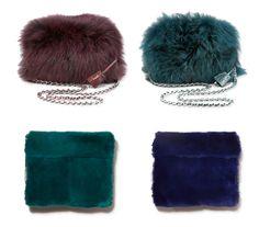 Behind The Seams: DIY-How to make a fake fur clutch