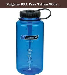 Nalgene BPA Free Tritan Wide Mouth Water Bottle, 32 Ozs, Gray - Blue Lid. About MultiBuySale MultiBuySale Store is best store in the world. We ship item worldwide to our customer. And One of best important in our store that we encourage to service our customer to build satisfaction for our customer. So if you are OK with our product, you help us to give 5 stars feedback to us. If not, you can contact us to get best solution together Policy MultiBuySale 1. Item was sent by UPS Post, China...
