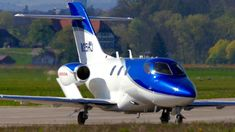 This brand new Honda HondaJet with matching registration number is seen taking-off at Bern Airport in Switzerland today. HondaJet is the world's. Honda Jet, New Honda, Bern, Aircraft, Airports, Vehicles, Aviation, Car, Planes