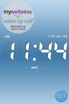 This is the best iPhone app for stress relief! My Wellness Wake Up Call motivational alarm clock messages – NEW iPhone App on iTunes. Wake UP and feel well for only $.99 on iTunes!