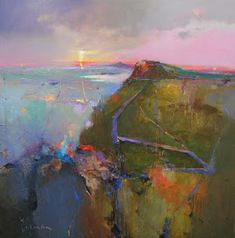 """Determine additional info on """"contemporary abstract art painting"""". Check out our internet site. Abstract Landscape Painting, Landscape Art, Landscape Paintings, Abstract Paintings, Art Paintings, Contemporary Abstract Art, Deco Design, Gouache, Painting Inspiration"""