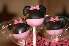 Minnie Cake pops!!!