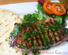 Colombian churrasco (forget about the arepa--that's not LC!)