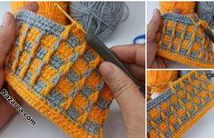 YELEK VE ŞAL:İLHAM VEREN LİLYUM TIĞ İŞİ ÖRGÜ   Nazarca.com Crochet Stitches Patterns, Stitch Patterns, 2 Colours, Kids And Parenting, Fingerless Gloves, Arm Warmers, Gray Color, Prints, Vest