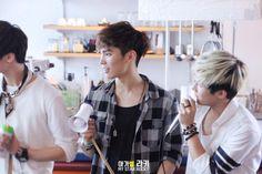[12.09.2015] Moon Bin, Rocky e JinJin Monthly Date