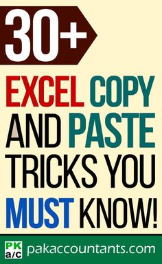 30 Copy Paste Tricks You Must Know Mouse Keyboard Autofill Paste Special and More! Technology Hacks, Computer Technology, Computer Programming, Business Technology, Computer Lessons, Computer Help, Microsoft Excel Formulas, Computer Shortcut Keys, Excel For Beginners