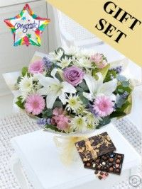 Send flower gifts in all counties including, Dublin, Cork and Galway with Flowers. We have wonderful collection of flowers available for same day and ne Happy Birthday Flower, Birthday Gifts, Hand Tied Bouquet, Flowers Delivered, Send Flowers, Beautiful Roses, Ladies Day, Chocolates, Balloons