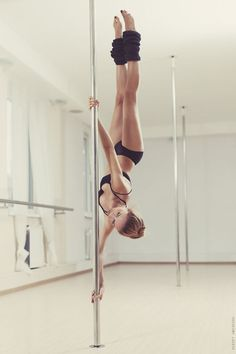 pole dancing fitness class. Those girls are SO STRONG.