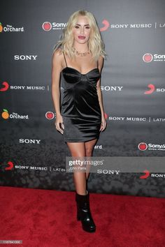Lali Esposito arrives at Sony Music Official 2019 Latin GRAMMY After Party on November 2019 in Las Vegas, Nevada. Get premium, high resolution news photos at Getty Images Image Now, Sites Like Youtube, Video Site, Documentaries, Sony, Bodycon Dress, Angel, Celebs, Tv