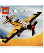 LEGO® Creator 6745 Propeller Plane, Instruction... - $7.91