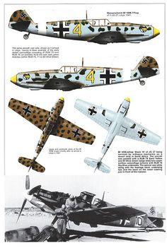 Bf109 E, E1, E3, E4, E7 and E9 Trop variants plus the Spanish Legion Condor aircraft (20) | Flickr - Photo Sharing!