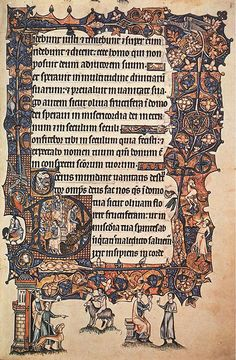 The Art of the Book - Gothic illuminated pages from the 14th century