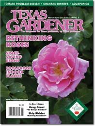 This isn't a new magazine, but I just discovered it a couple of months ago.  Finally, a magazine that is actually about growing things in TX.