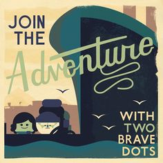 Retro Postcard designs for TwoDots. Get it free now