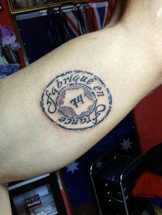 Stempel tattoo #swordsmantattoostudio