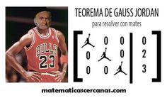 """Teorema de Gauss-Jordan para resolver con """"mates"""""""