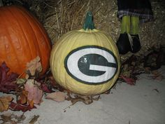 Green Bay Packers Pumpkin