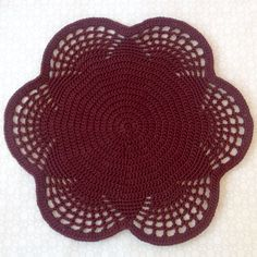 Coasters brown crochet, Cuardanapos croche, Centrinho, Home decor, Lace doily, Handmade, For housewares,Brown doily cotton, Table decoration by EcoCrochetArt on Etsy