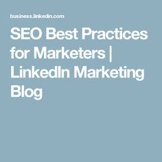 SEO Best Practices f
