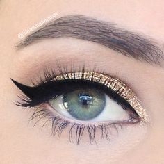 New Year's Eve makeup!
