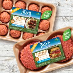 Introducing Pure Farmland, a plant based protein option that fits right into your lifestyle and helps you grow your options in the kitchen. Protein Pack, Vegan Protein, Burger Recipes, Vegan Recipes, Mashed Potato Cakes, Plant Based Burgers, Plant Based Protein, Vegan Dishes, Eating Plans