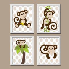 Monkey Decorations