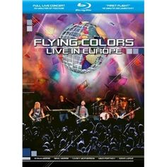 Flying Colors: Live In Europe (2 Discs) (Blu-ray)