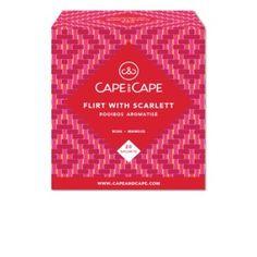 Flirt with Scarlett - Rooibos parfumé sachets - Cape and Cape