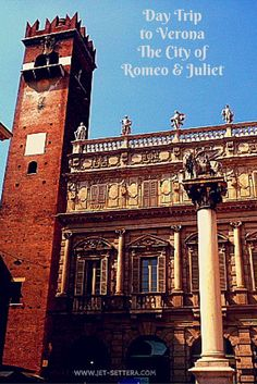 Read about a day trip to Verona, the city of Romeo And Juliet | Verona Italy…